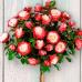 Роза чайно-гибридная Дабл Делайт (Двойное Удовольствие) на штамбе